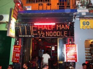 Half Man Half Noodle Bar, Hanoi, Viet Nam
